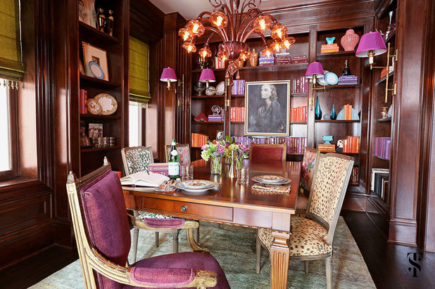 Eclectic Dining Room By Summer Thornton Design Inc