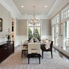 Contemporary Dining Room by Heritage Luxury Builders