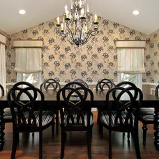 Traditional Dining Room by 2 Design Group