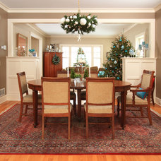 Farmhouse Dining Room by the gudhouse company