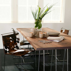 contemporary dining room by Lindy Donnelly