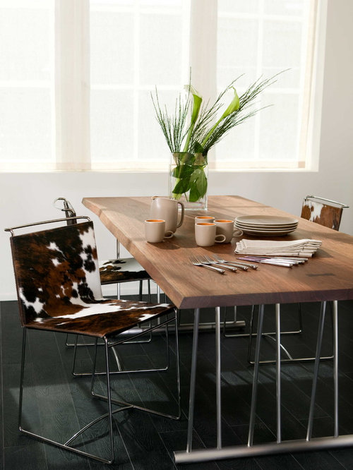 cowhide dining chairs home design ideas pictures remodel and decor