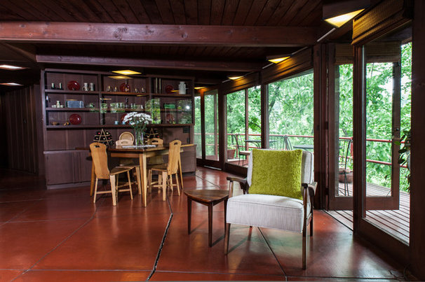 Midcentury Dining Room by Jason Snyder