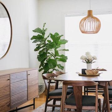 Lisa Diederich's Modern Dining Room