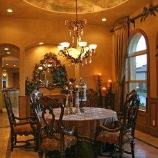 Mediterranean Dining Room by Lisa Briggs