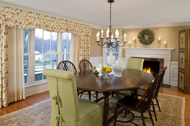 Traditional Dining Room by lisa furey - barefoot interiors