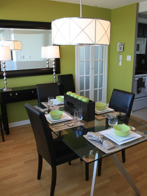 Green Dining Rooms Home Design Ideas, Pictures, Remodel ...