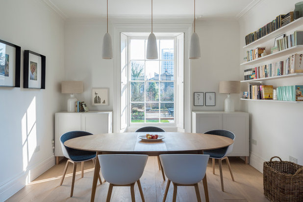 Contemporary Dining Room by Thomson Lavers Architects Ltd