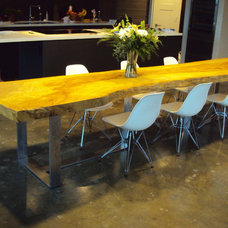 eclectic dining tables by Greenwood Bay