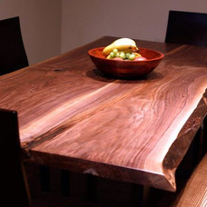 Contemporary Dining Room by Tree Green Team