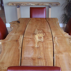 Dining Room by Live Edge Design