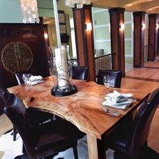 Contemporary Dining Room by Live Edge Design