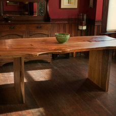 Rustic Dining Room by Greenwood Bay