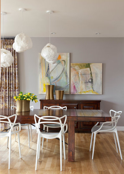 Contemporary Dining Room Living at it's best