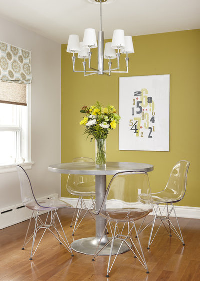 Color Feast: When to Use Green in the Dining Room