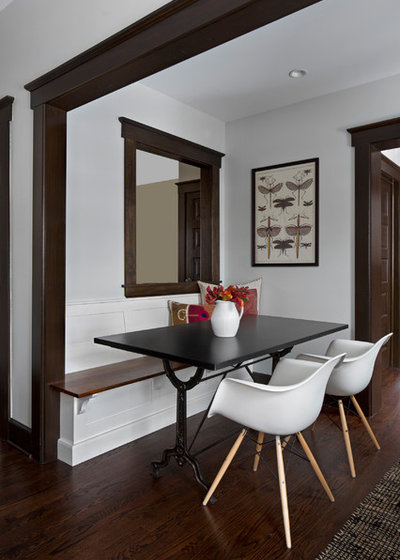 Transitional Dining Room by Extraordinary Works - Luxury by EW Kitchens