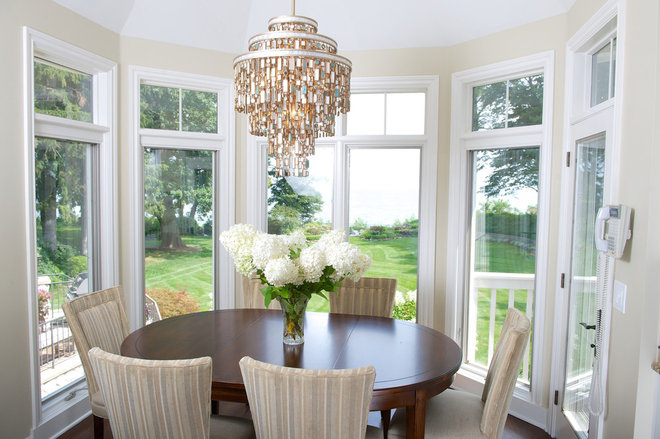 Eclectic Dining Room by House of L Interior Design
