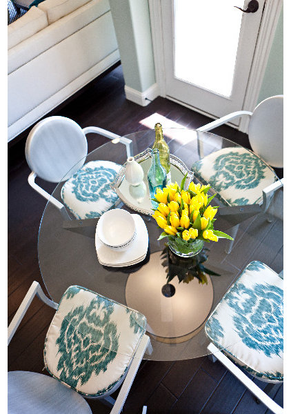 Eclectic Dining Room by Abbe Fenimore Studio Ten 25
