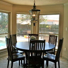 Traditional Dining Room by Sneller Custom Homes and Remodeling, LLC