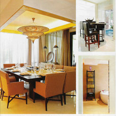 Asian Dining Room by Chitz Legaspi