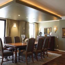 Modern Dining Room by Tesserae Interior Design