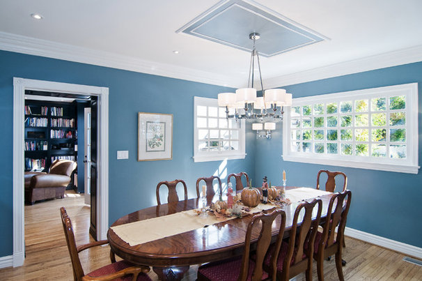 Traditional Dining Room by DesignBlue, Inc.