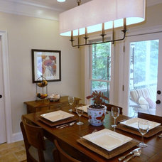 Contemporary Dining Room by Fitzgerald Construction