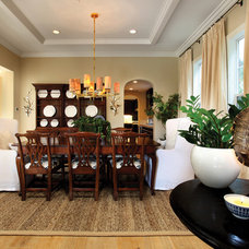 Traditional Dining Room by Kathleen DiPaolo Designs