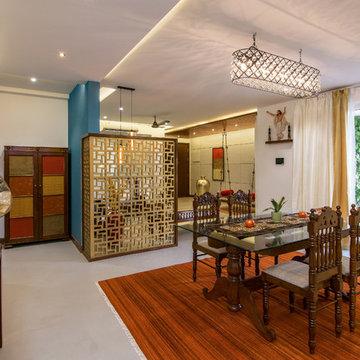 Living Wall Another Sky, Interiors StudioTAB, Mumbai. Photographed by Nayan Soni