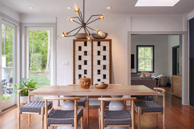 Modern Dining Room by Ward 5 Design