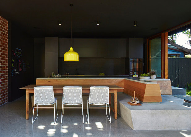 Contemporary Dining Room by MAKE Architecture