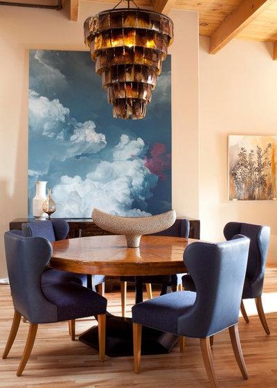 Contemporary Dining Room by Laurel Quint Interior Design
