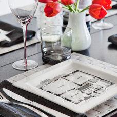 Modern Dining Room by Rad Design Inc