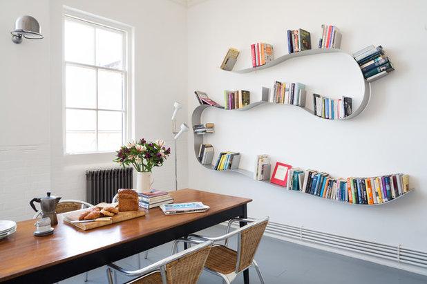 Indretning: bøger på display   vis din personlighed i indretningen