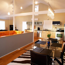 Modern Dining Room by Cambridge Photography
