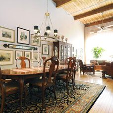 Eclectic Dining Room by Debbie Mead