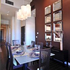Contemporary Dining Room by Wintercreative Interior Design : Maika Winter ASID