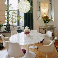 Eclectic Dining Room by Ondine Karady Design