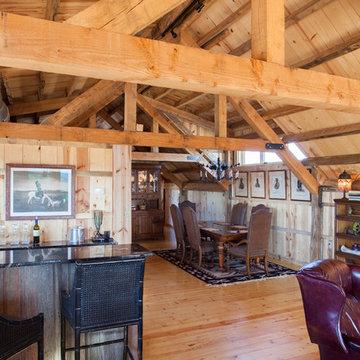 Loft Living in a Nebraska Barn Home