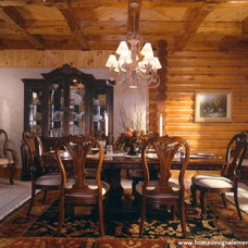 Traditional Dining Room by Home Design Elements LLC