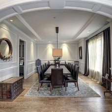 Traditional Dining Room by Carter Inc
