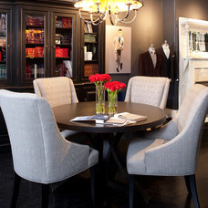 Traditional Dining Room by Meg Tawes Kitchens, Bathrooms, and Interiors