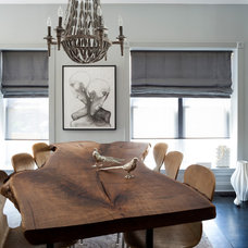 Transitional Dining Room by BGDB Interior Design