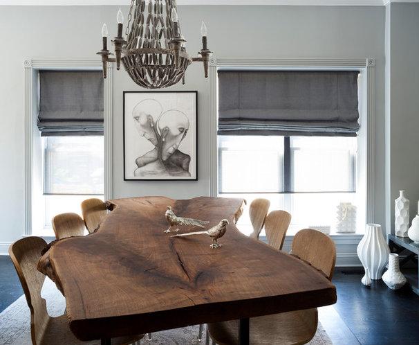 Transitional Dining Room by BGDB Interior Design