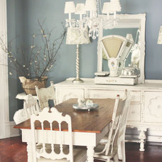 Traditional Dining Room by Kasey Buick