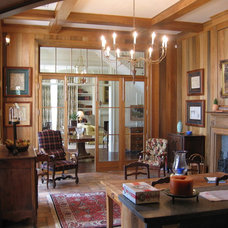 Traditional Dining Room by Blue Horse Woodworks