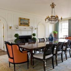 Traditional Dining Room by Neumann Lewis Buchanan Architects