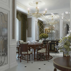 Traditional Dining Room by Lompier Interior Group