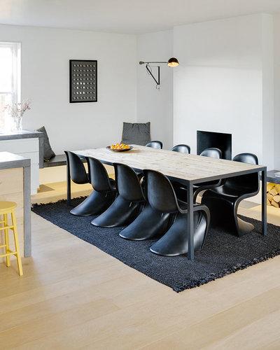 quelles chaises inviter autour d 39 une table industrielle. Black Bedroom Furniture Sets. Home Design Ideas