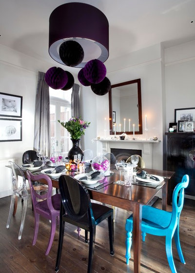 Contemporary Dining Room by Emma Green Design